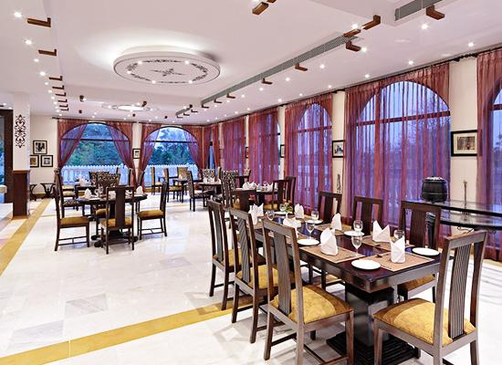 restaurant at Talai Bagh Palace Jaipur