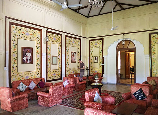Kishangarh House Mount Abu Sitting Area