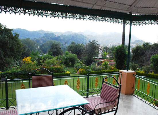 Kishangarh House Mount Abu Garden View