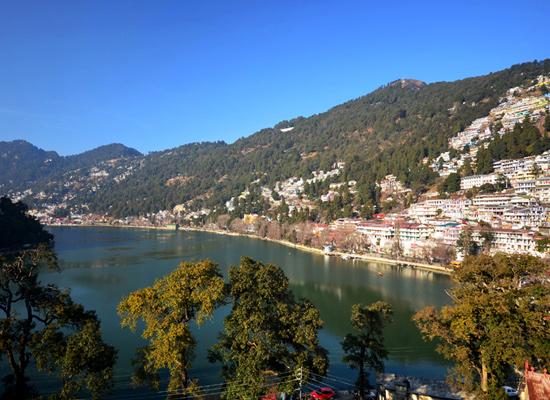 Hotel Himalayas nainital lake view