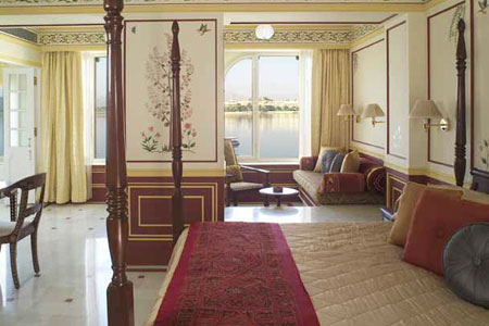 Room at Taj Lake Palace Udaipur