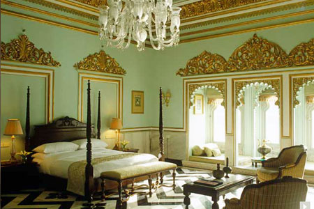 Taj Lake Palace Udaipur Bedroom