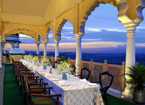 Noor Mahal karnal dining area