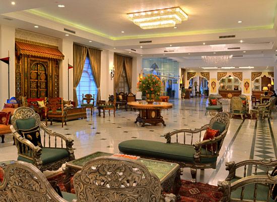 Noor Mahal karnal sitting area