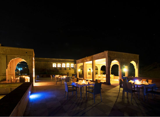 Bijolai Palace Jodhpur Night View