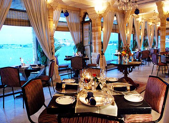 Dining at Taj Fateh Prakash Palace Udaipur