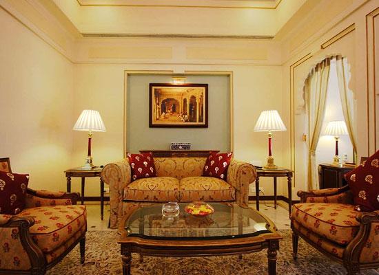 Sitting Area at Taj Fateh Prakash Palace Udaipur