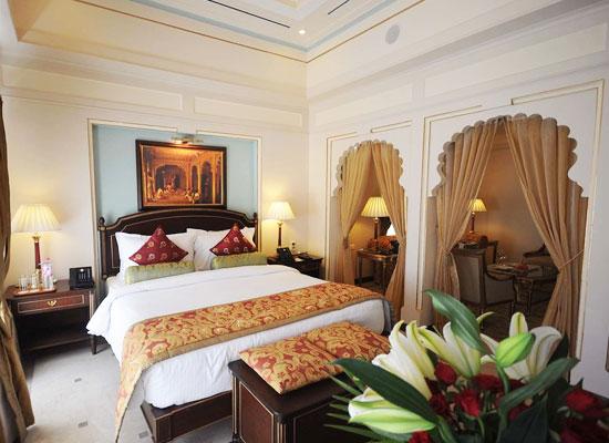 Luxury room of Taj Fateh Prakash Palace Udaipur