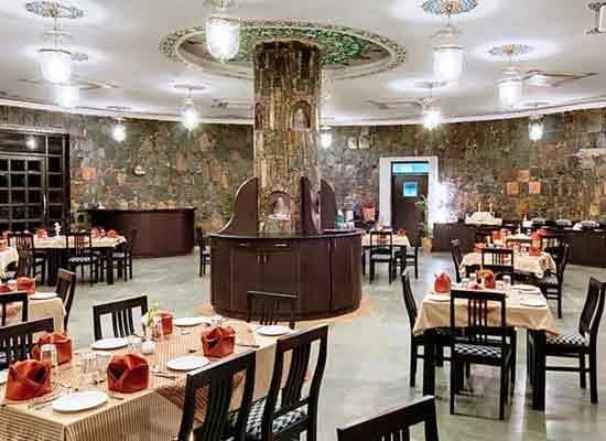 Restaurant at The Amargarh Resort Udaipur