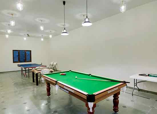Recreational activities at The Amargarh Resort Udaipur