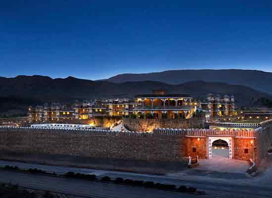 The Amargarh Resort Udaipur view
