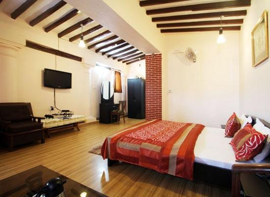 Karma Vilas Resort Mussoorie Bedroom