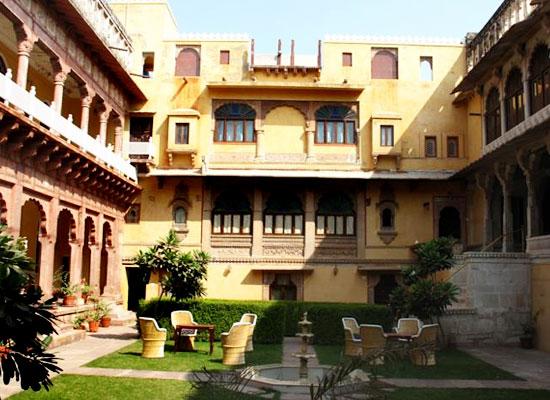 Chanoud Garh pali garden