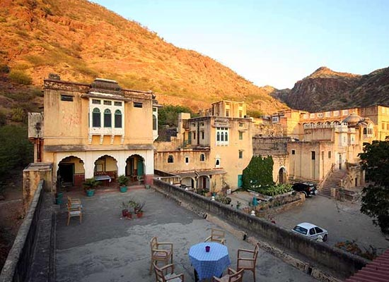 Bhadrajun Fort Rajasthan Open Air dinig