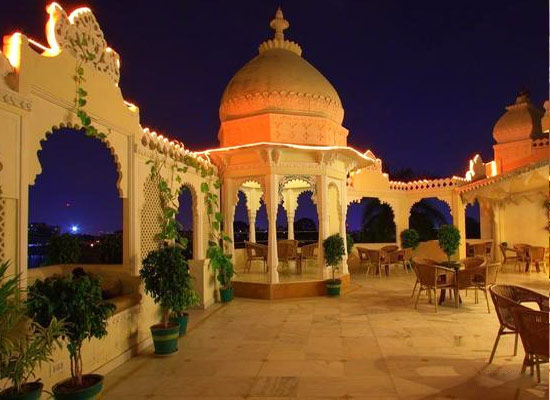 Hotel Swaroop Vilas Udaipur Night View