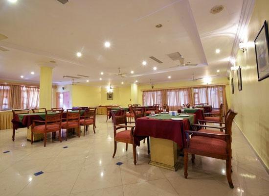 Restaurant at Palanpur Palace Hotel Mount Abu