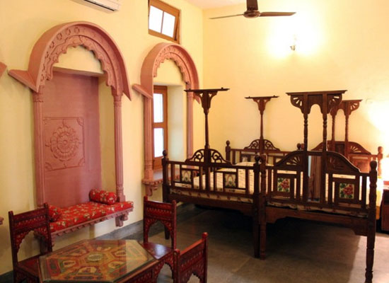 Inside View of Ishwari Niwas Heritage Resort Bundi, Rajasthan