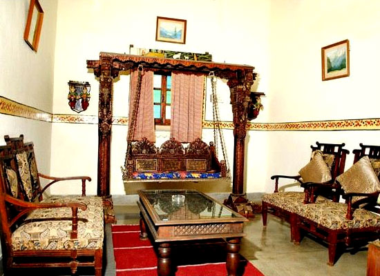 Sitting Area at Ishwari Niwas Heritage Resort Bundi, Rajasthan