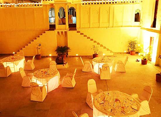 Rajmahal Bhindar Udaipur Dining