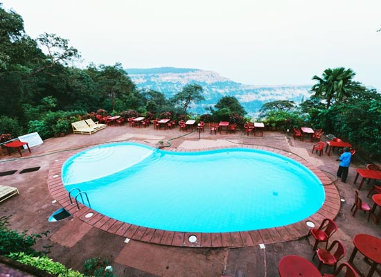Lords Central Hotel matheran lake view