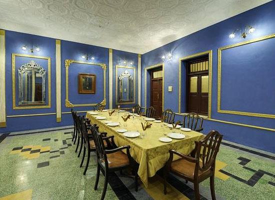 Ambika Niwas Palace in Muli, Gujarat Dining