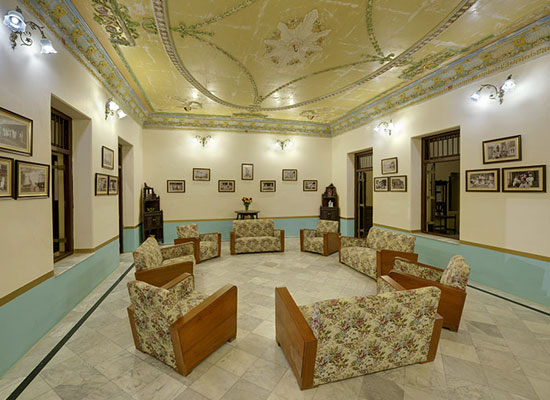Ambika Niwas Palace in Muli, Gujarat Sitting