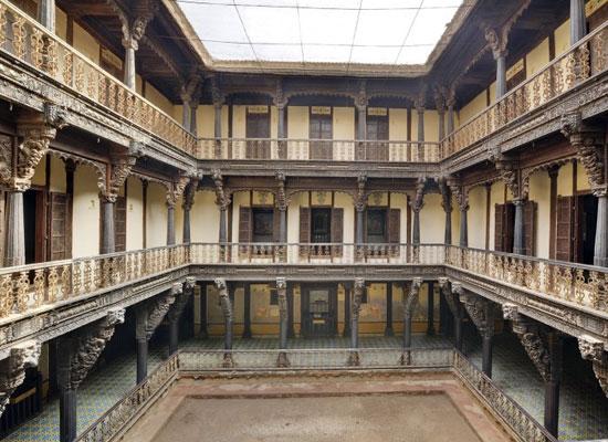 Ambika Niwas Palace in Muli, Gujarat Balcony