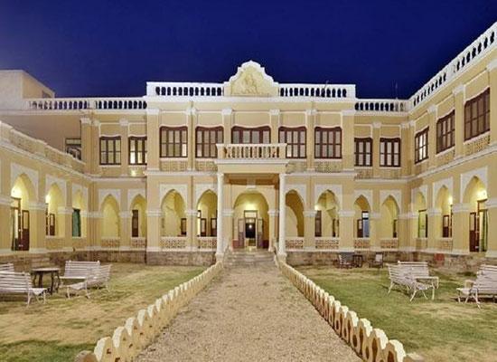 Ambika Niwas Palace in Muli, Gujarat Facade