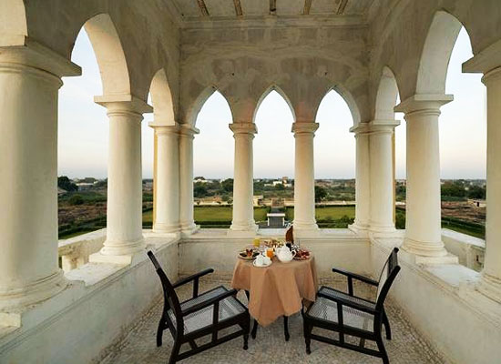 Ambika Niwas Palace in Muli, Gujarat Outdoor Sitting