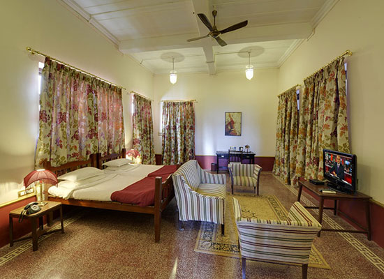 Ambika Niwas Palace in Muli, Gujarat Rooms