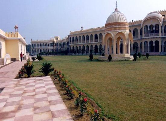 Hotel Raj Mahal orchha facade