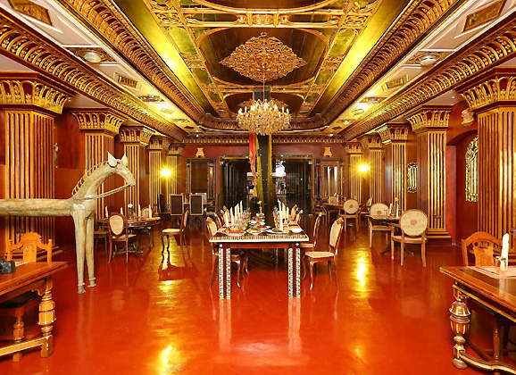 Ginger House Museum Hotel Kochi Interior
