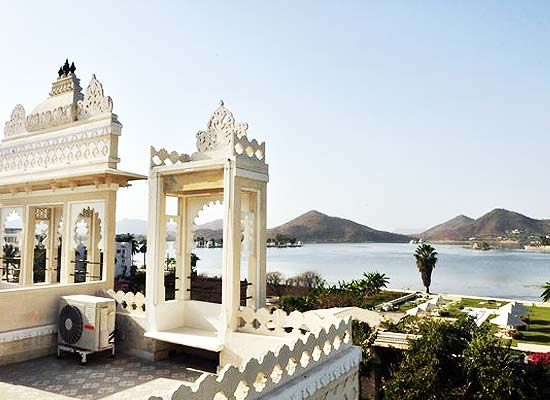 Charming Lake View from Rampratap Palace Udaipur