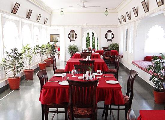 Jagat Niwas Palace Udaipur Dining