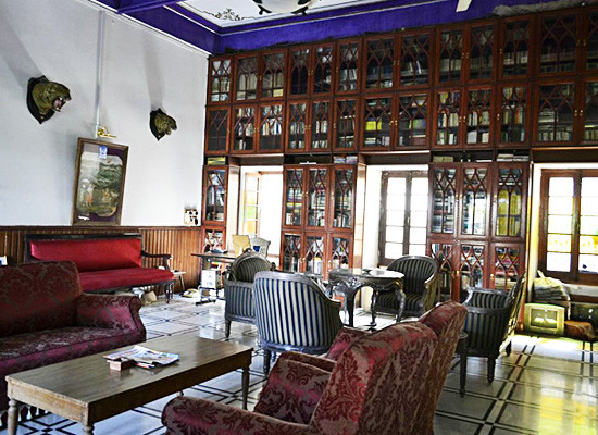 Hotel Rang Niwas Palace udaipur sitting area