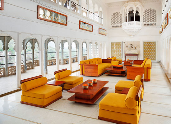 Sitting Hall at RAAS Devigarh Udaipur