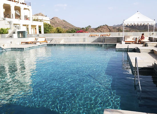 Swimming Pool at RAAS Devigarh Udaipur
