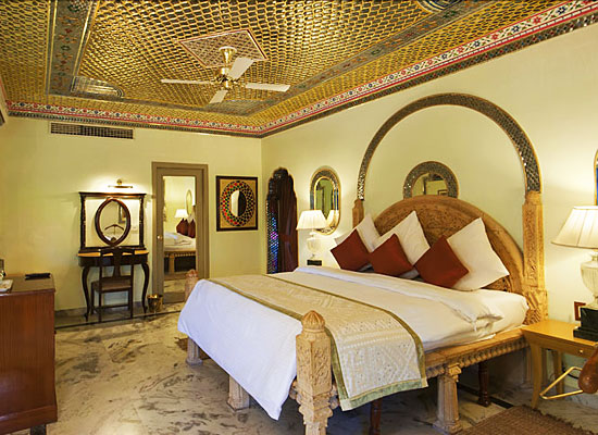 Fort Rajwada Jaisalmer Luxury room