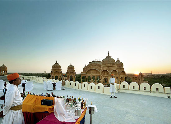 Magnificent view from Fort Rajwada Jaisalmer