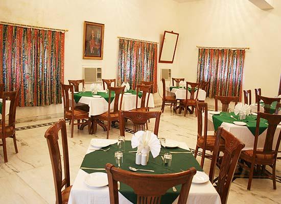 Mandir Palace jaisalmer dining hall