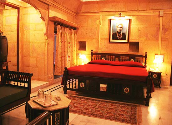Mandir Palace jaisalmer bedroom
