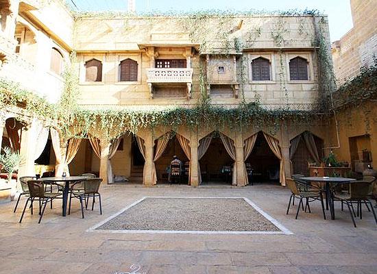 Jaisal Castle Jaisalmer Ground Area