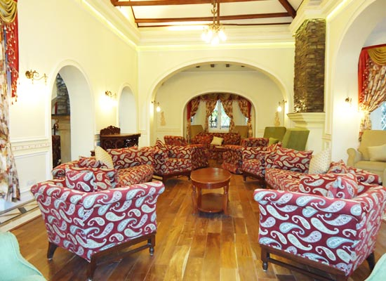 Cama Rajputana Club Resort mount abu sitting area