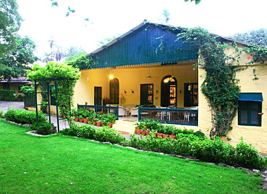 Connaught House mount abu garden view