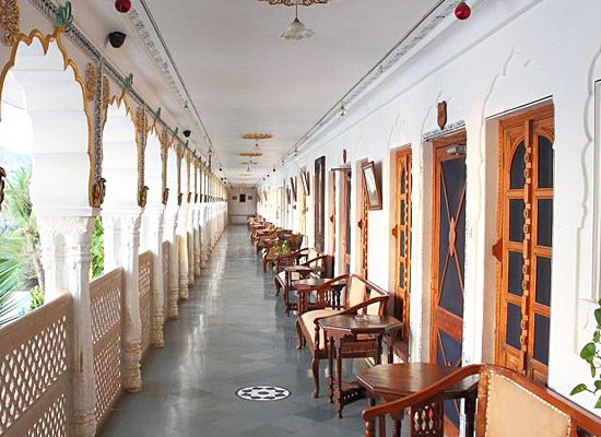 Hotel Pushkar Palace pushkar hall view
