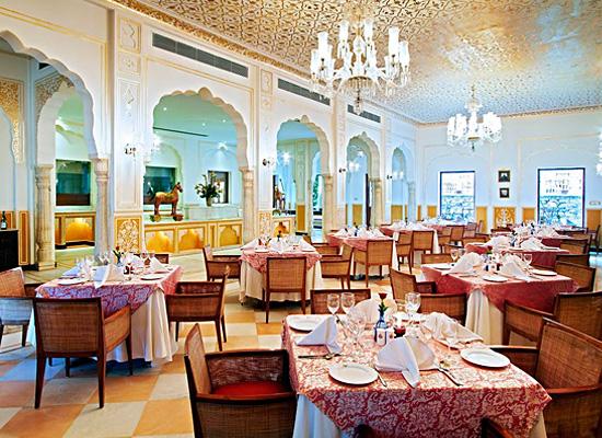 Hotel Samode Palace samode dining area