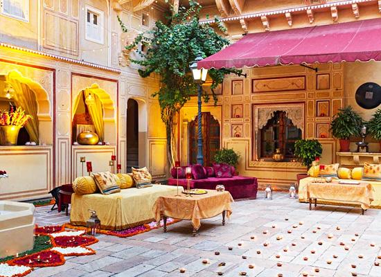 Hotel Samode Palace samode sitting area