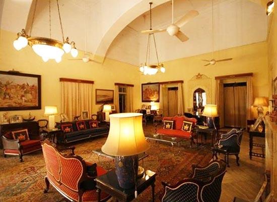 Brijraj Bhavan Palace Rajasthan Sitting