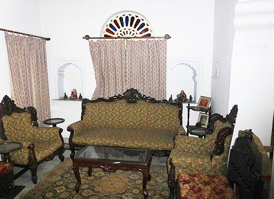 Sitting Area at Palkiya Haveli Kota, Rajasthan