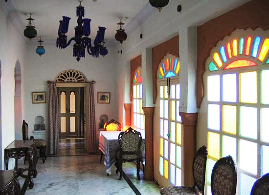 Inside View of Palkiya Haveli Kota, Rajasthan
